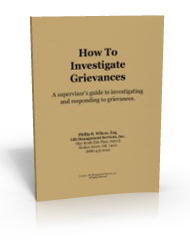 How to Investigate Grievances