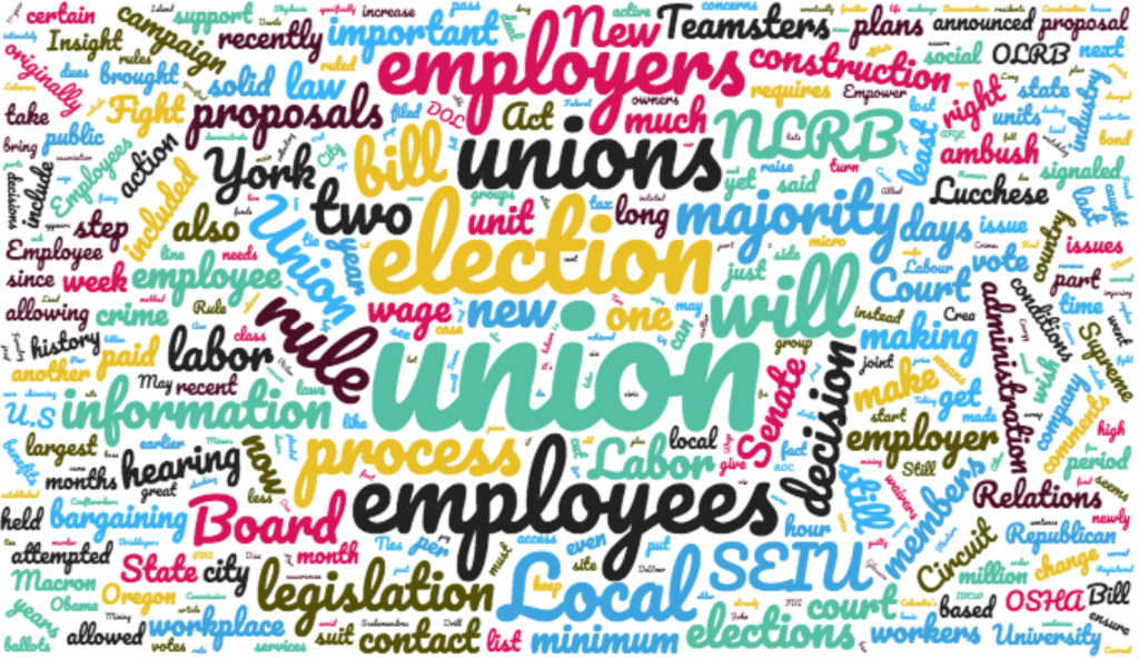 Labor Relations Ink June 2017