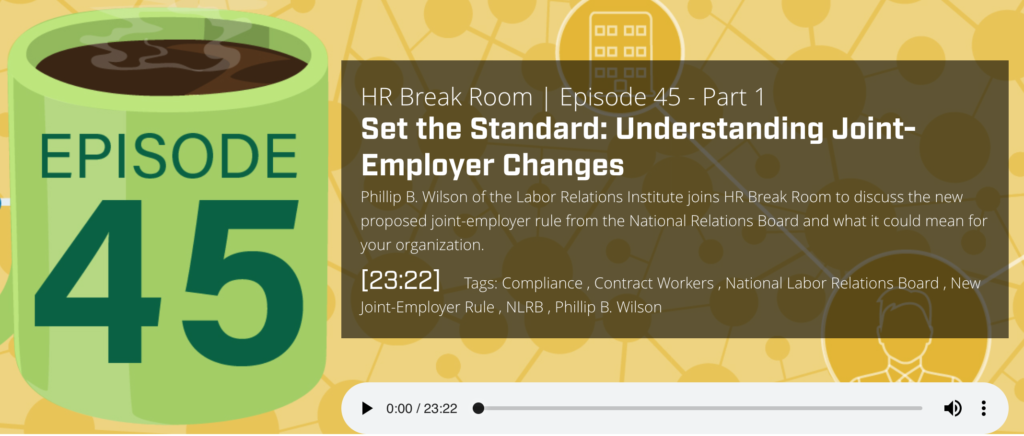 Joint Employer Podcast