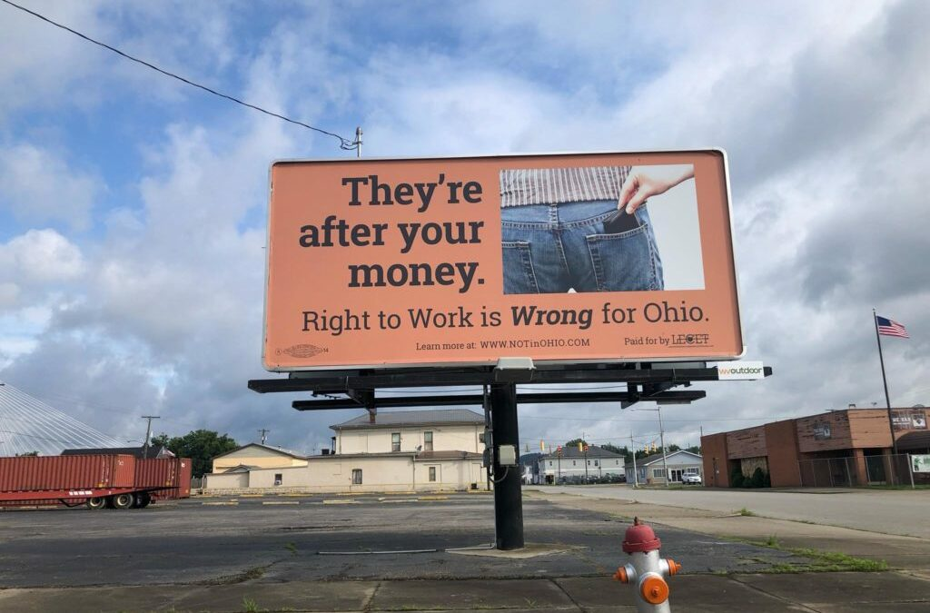 LIUNA Takes Up Right To Work Fight In Ohio